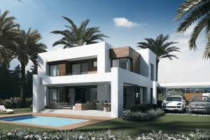 New Modern Villas Under Construction In Marbella