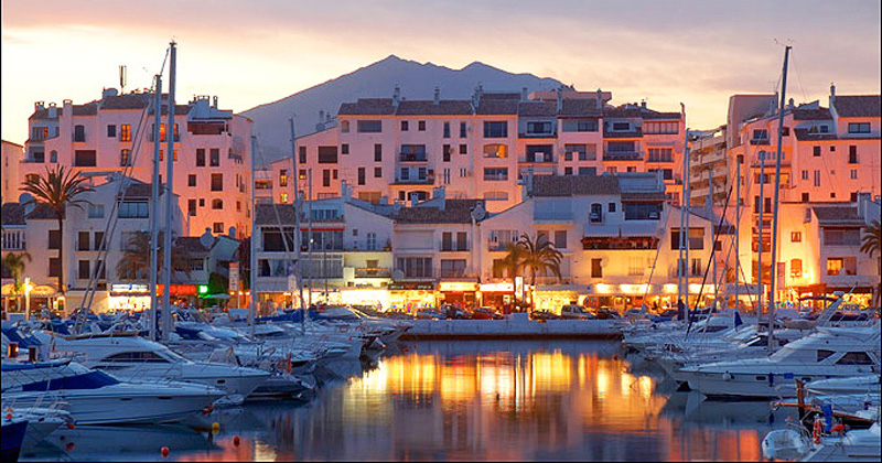 The splendor of Puerto Banus