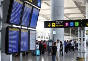 Malaga airport handled over 2 million passengers in August