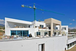Construction licences approved in Nueva Andalucía