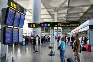 More than a million passengers in October