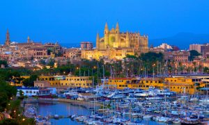 Mallorca's capital, Palma, topped the capitals