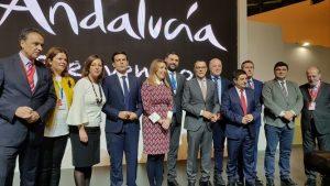 President of the Junta de Andalucía, Susana Díaz, at Fitur, 2018
