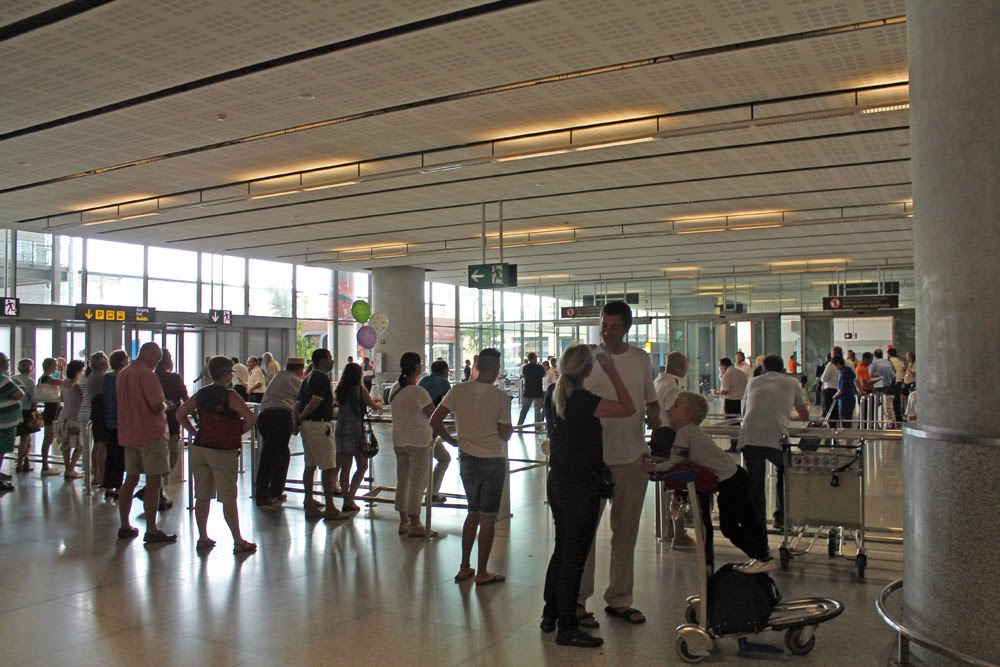 Malaga airport saw 7.8% increase in passengers