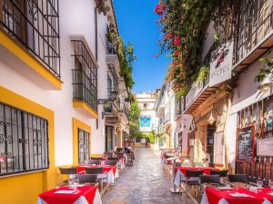 Marbella's beautiful Casco Antiguo (Old Town)