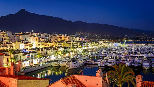 Puerto Banus by night - a must see!