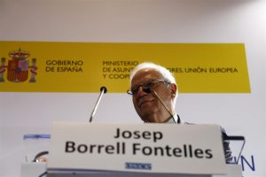 "Borrell said ""Brexit will not affect"" Brits in Spain"