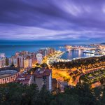 Beautiful Málaga, popular with buyers and tourists
