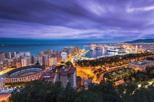 Beautiful Malaga, popular with buyers and tourists