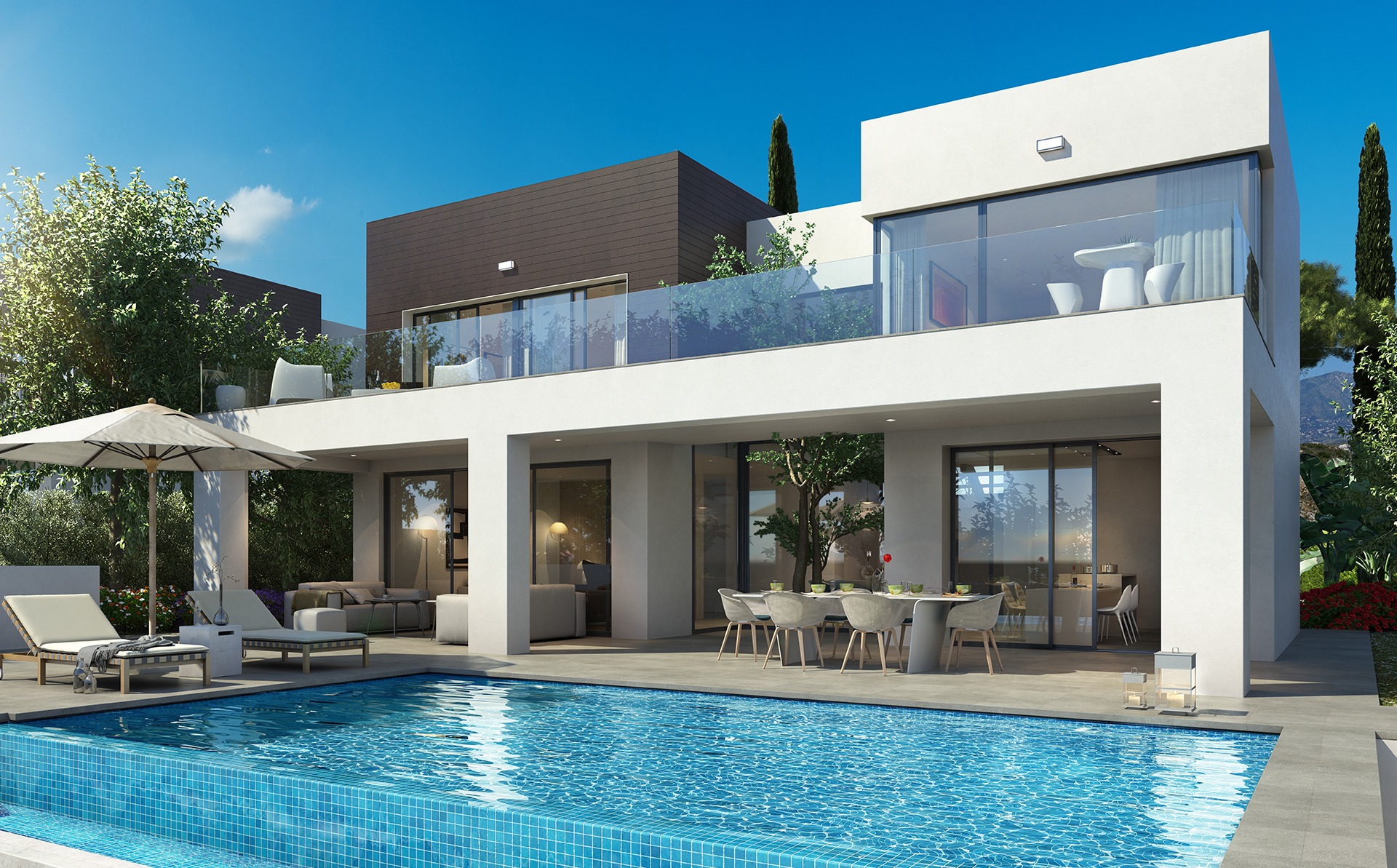 Vistas la cala la cala de mijas costa del sol - Luxury homes marbella ...