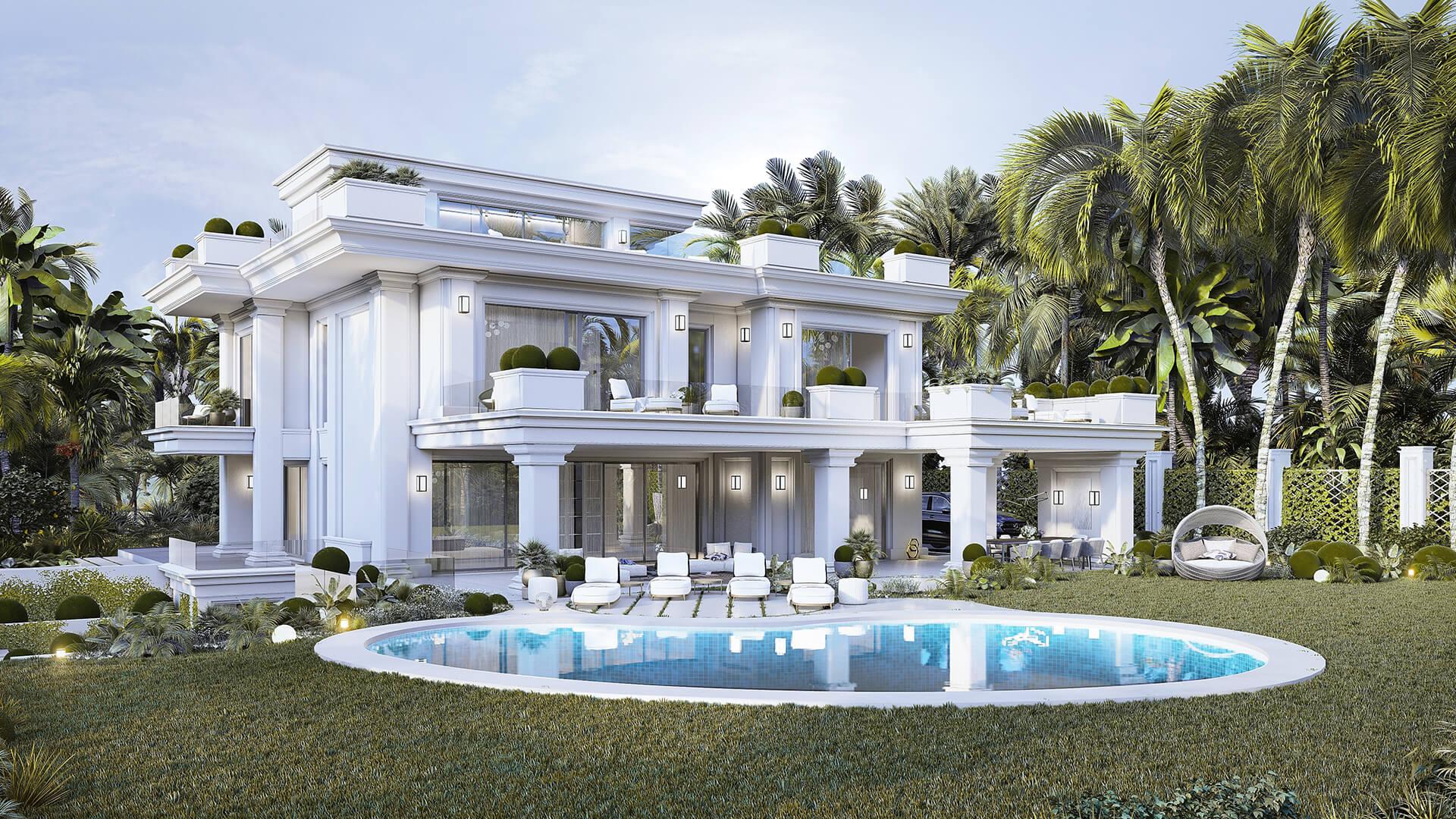 Pisos nuevas en venta - Villas Lomas de Marbella Club
