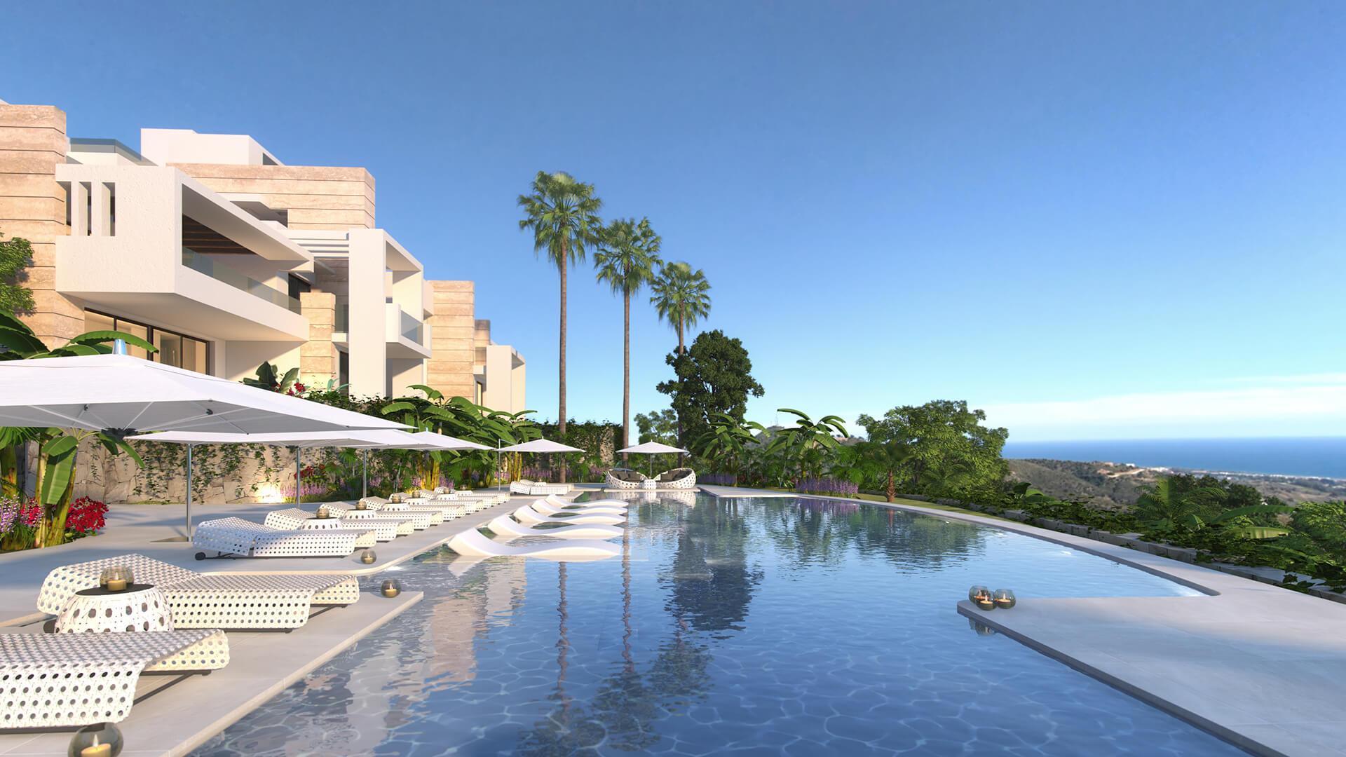 Marbella Apartments en Venta en Ojén