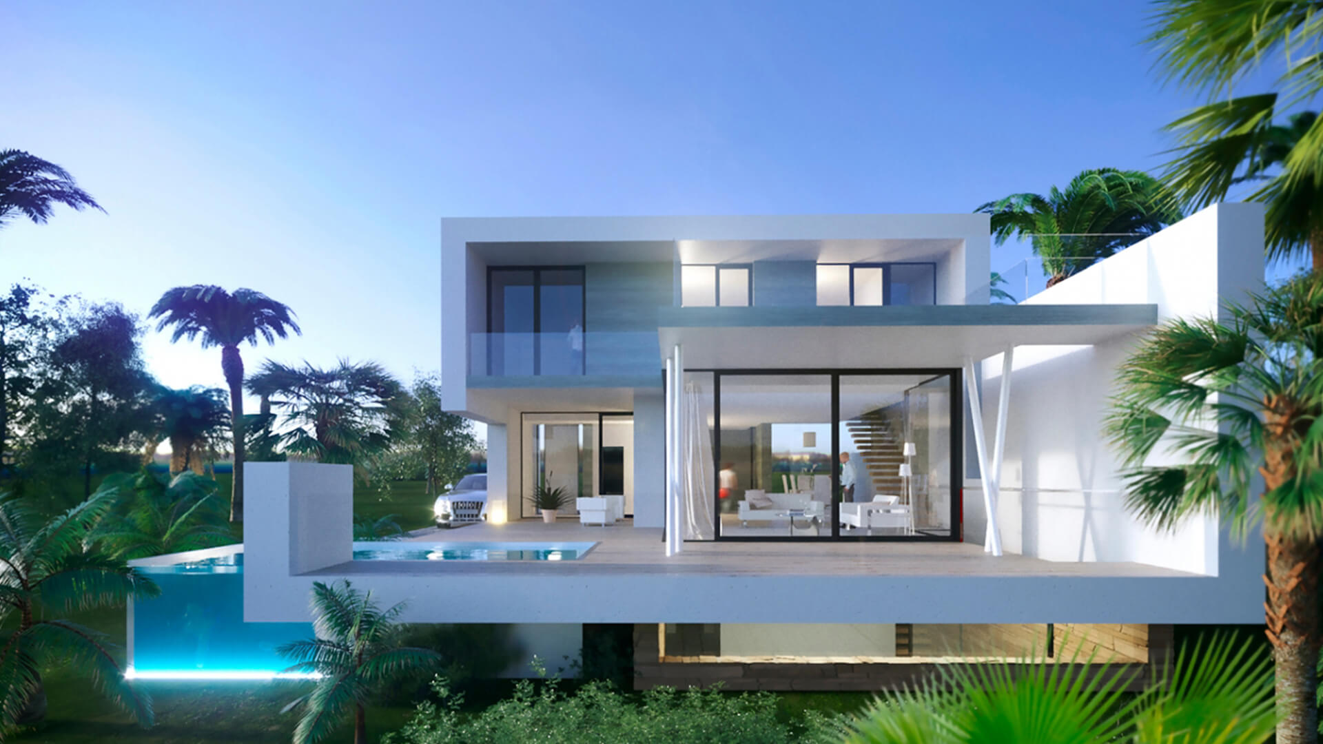 Estepona Villas en Venta en New Golden Mile