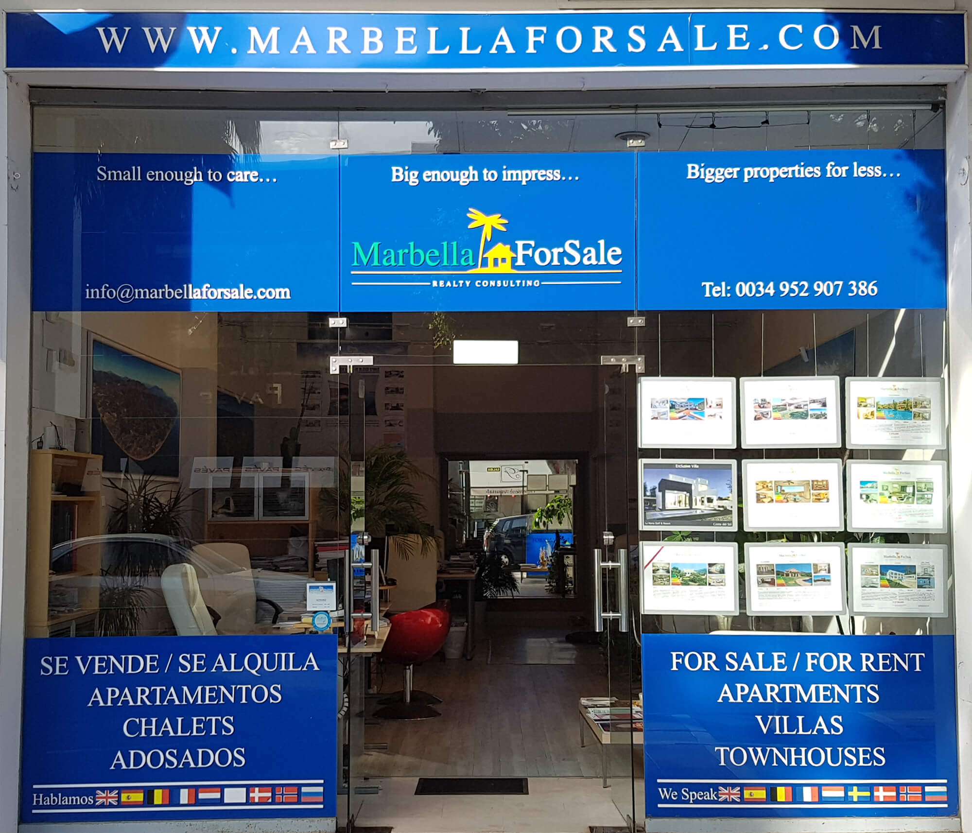 Marbella For Sale Office, Puerto Banus